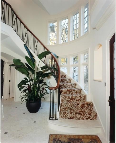 Glencoe Residence traditional-staircase