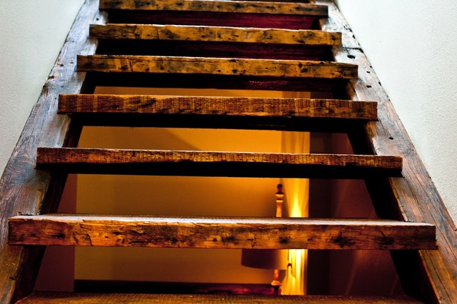 Floating Stair Treads - Contemporary - Staircase - denver - by Reclaimed DesignWorks