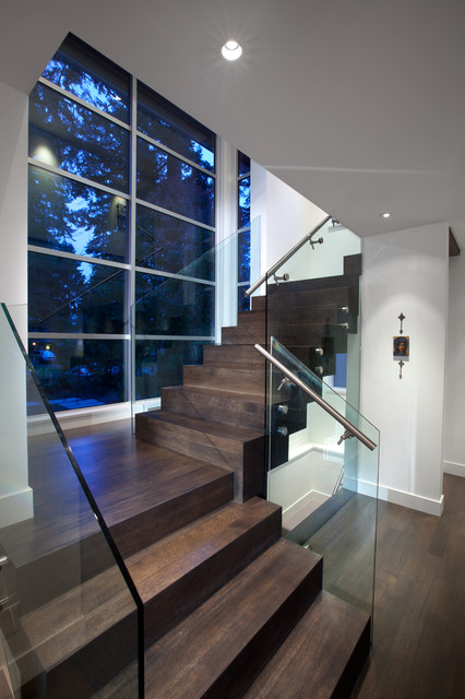 Floating Stairs Modern Staircase Vancouver By