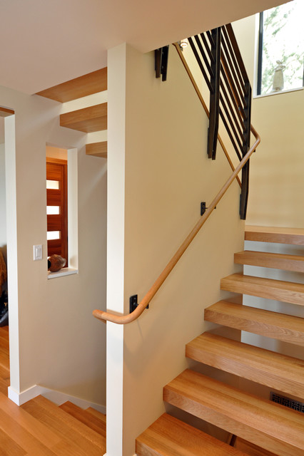 Floating stairs contemporary staircase seattle by for Free floating stairs