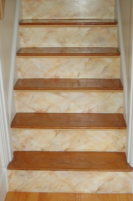 Floor & Stairs Murals modern-staircase