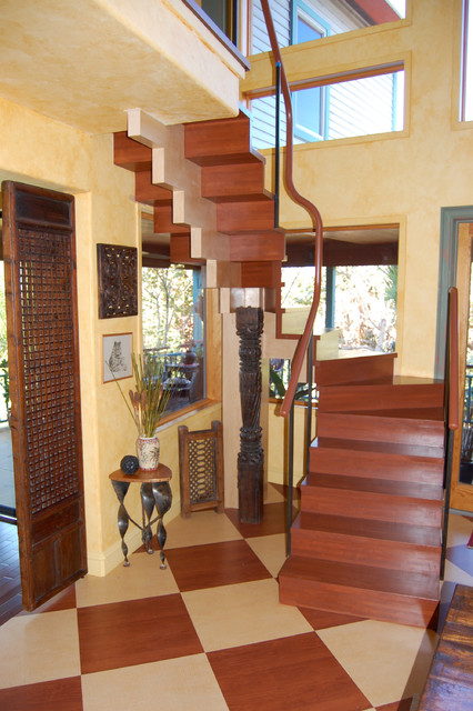 Florida Home eclectic-staircase