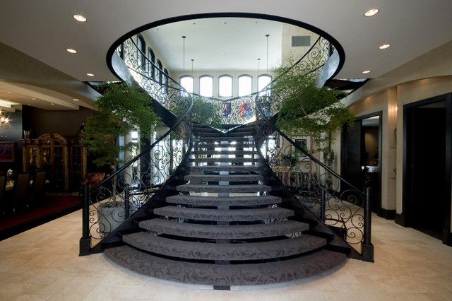 florida style house mediterranean staircase other by glenat