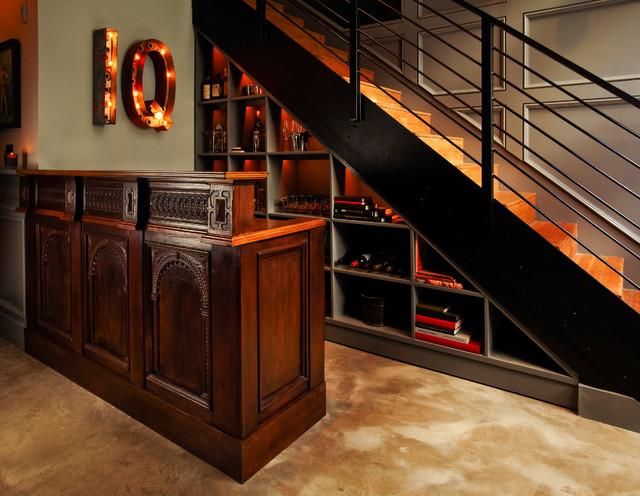 Flow Modern Interior Design Industrial Staircase Los