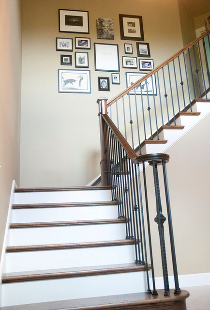 Forest Heights Residence traditional-staircase