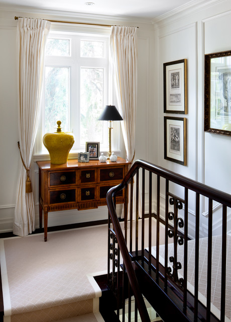 Forest Hill Classic Georgian Reno traditional-staircase