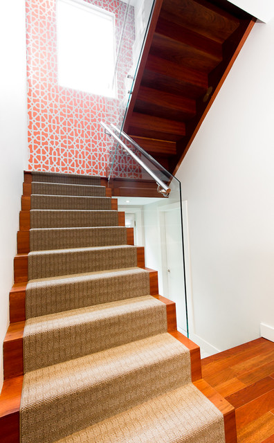 Forest  Hill Modern contemporary-staircase