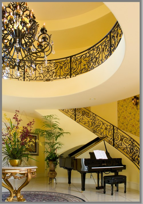Formality traditional staircase