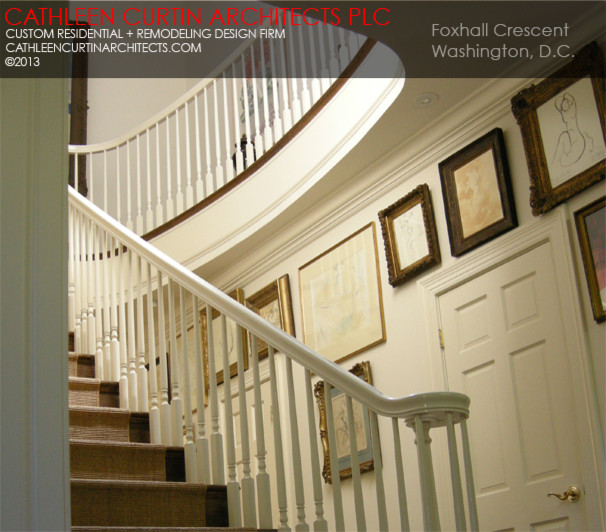 Foxhall Crescent traditional-staircase