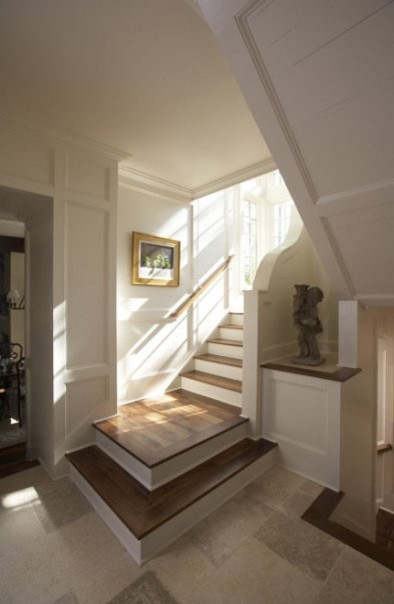 Foyer With Stairs To Basement : Foyer stair traditional staircase birmingham by