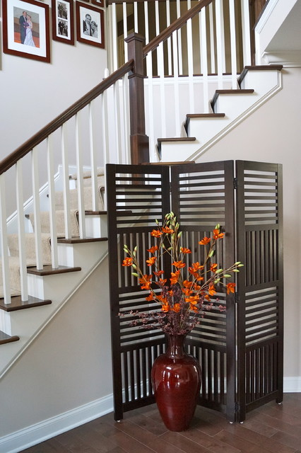 Kitchen and bath contemporary-staircase