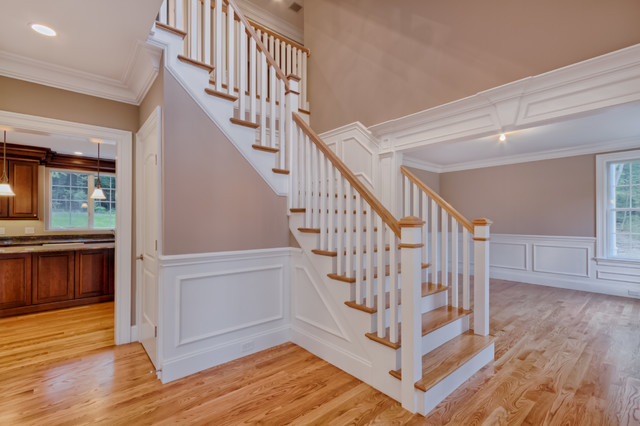 Traditional Foyer Jobs : Foyer traditional staircase boston by elite home
