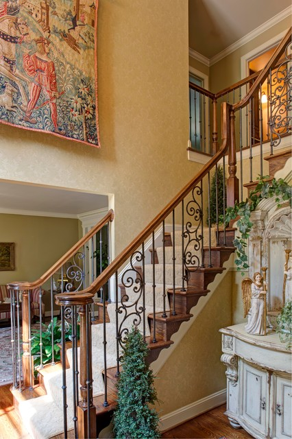 Office Foyer Design : Foyer home office traditional staircase dc metro