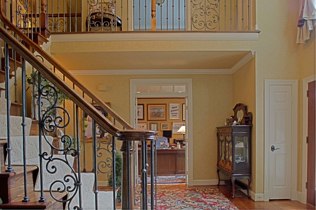 Foyer Home Office : Foyer home office traditional staircase dc metro
