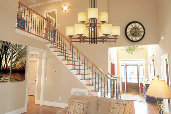 Foyer ideas contemporary staircase milwaukee by for Foyer staircase ideas