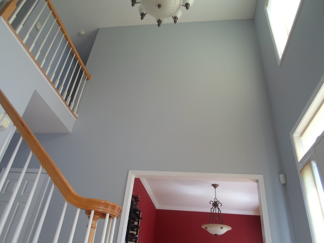 Houzz Foyer Paint : Foyer traditional staircase other metro by blue
