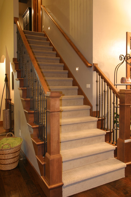 Houzz Foyer Stairs : Foyers and stairs