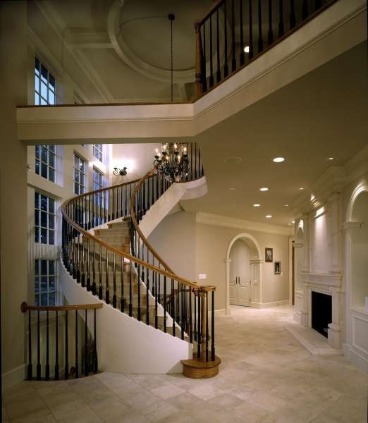 Houzz Traditional Foyer : Foyers traditional staircase other metro by