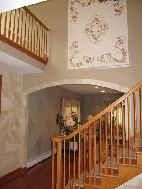 Traditional Foyer Photos : Foyers traditional staircase philadelphia by