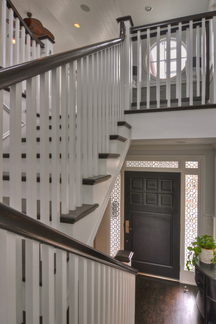Freestone Residence traditional-staircase