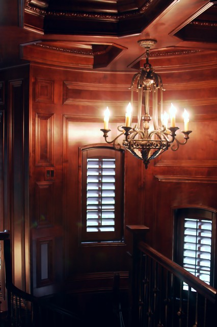 FRENCH CHATEAU traditional-staircase