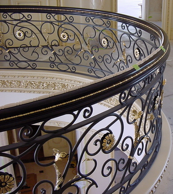 French Chateau  staircase