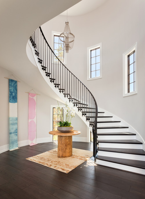 Where do I get this simple but elegant railings and bannister? Thanks!