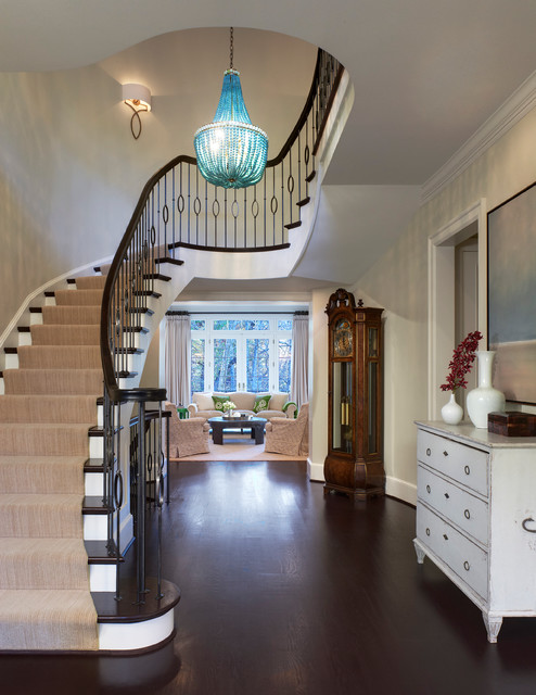 Fresh Modern Colonial Traditional Staircase Dc Metro