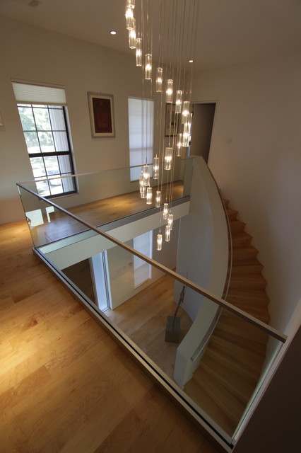 Friendswood House modern-staircase
