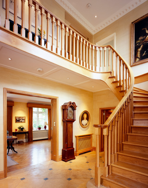 Front hall interior design wimbledon london for Hall interior design