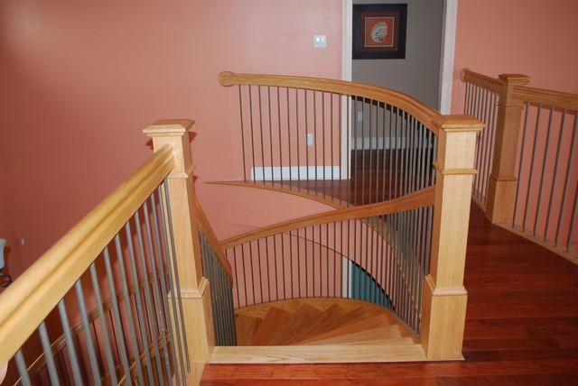 Ft. Beauregard Estates contemporary-staircase