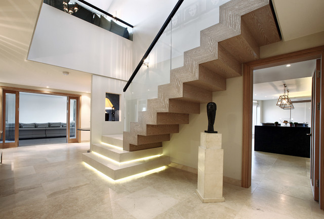 Fulham Apartment Contemporary Staircase London By
