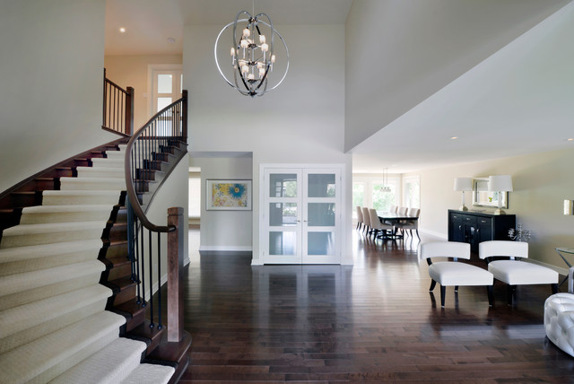 Full-House Reno contemporary-staircase