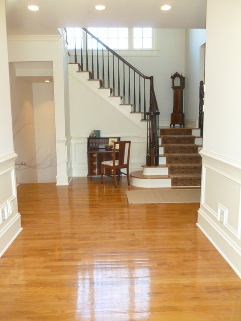 Full Interior Remodeling traditional-staircase