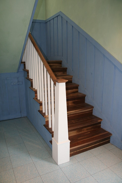 Funky Barn Stair Project. Brennan Residence. Cocoa Fl eclectic-staircase