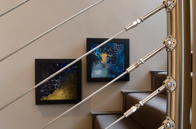 5816 Gaillardia contemporary-staircase