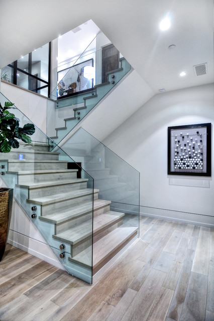 Galatea contemporary staircase orange county by for Architecture firms orange county