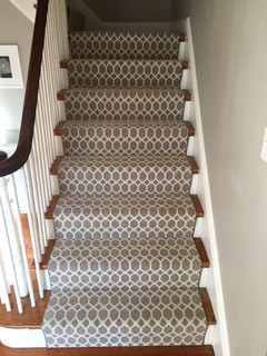 Geometric Stair Runner, Tuftex Carpet   Transitional ...