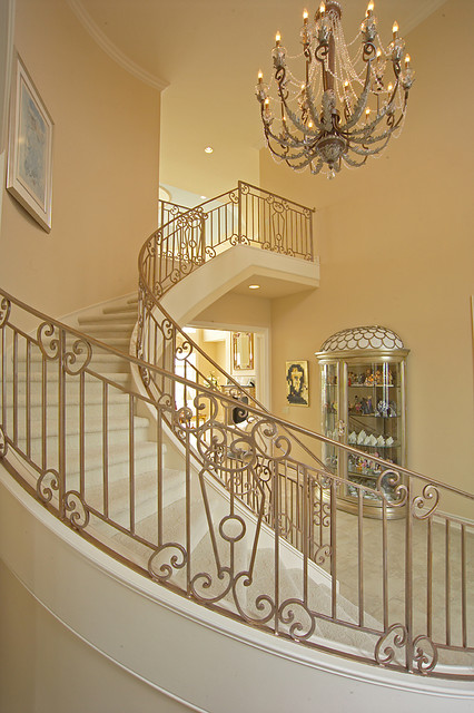 Georgian estate newport landing traditional for Georgian staircase design