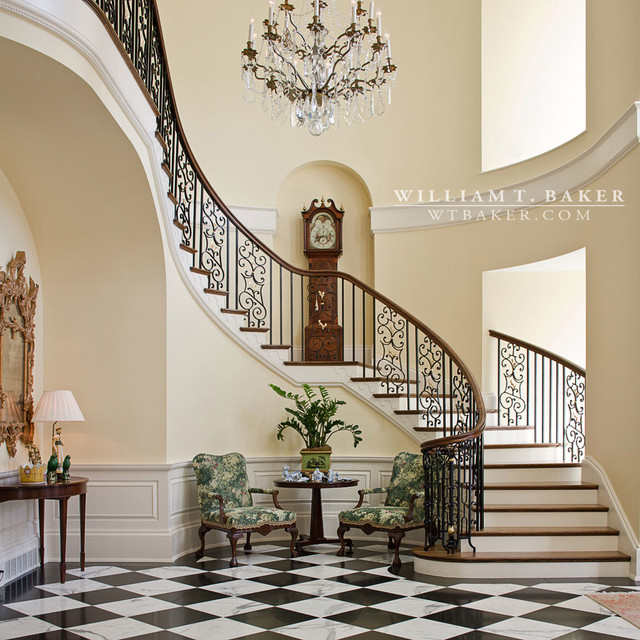 Georgian house traditional staircase louisville by for Georgian staircase design