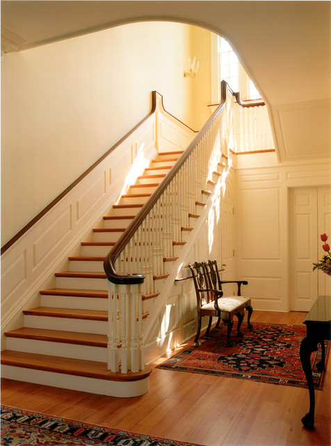 Georgian manor traditional staircase dc metro by for Georgian staircase design