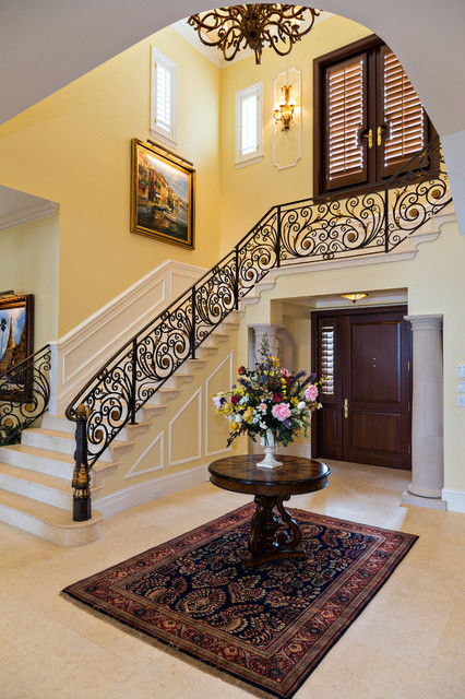 Georgian manor for Georgian staircase design