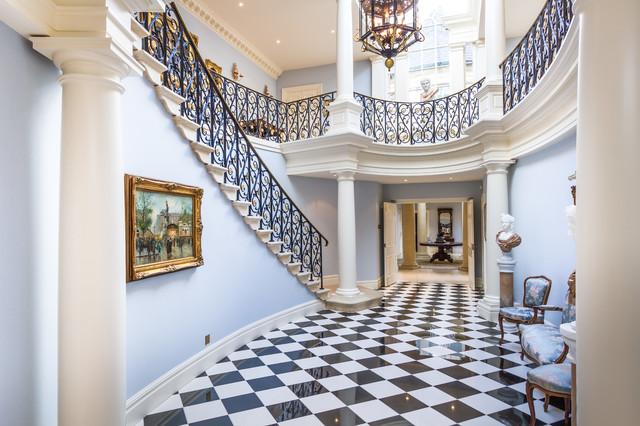 Astonishing Georgian Mansion Klassisch Treppen Sonstige Von Interior Design Ideas Helimdqseriescom