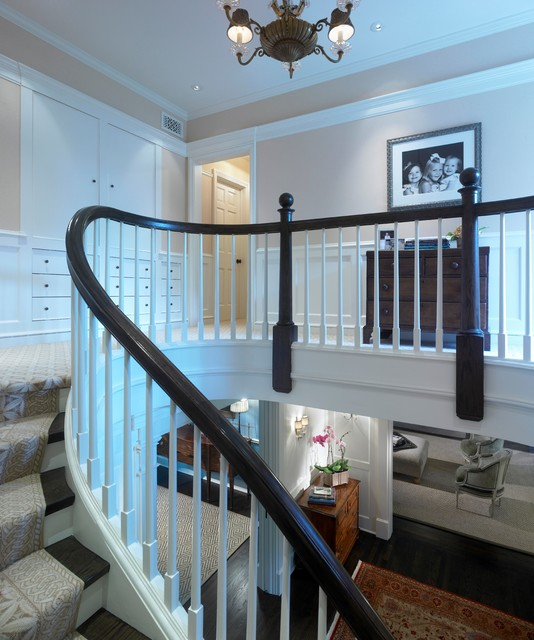 Georgian rebirth traditional staircase chicago by for Georgian staircase design
