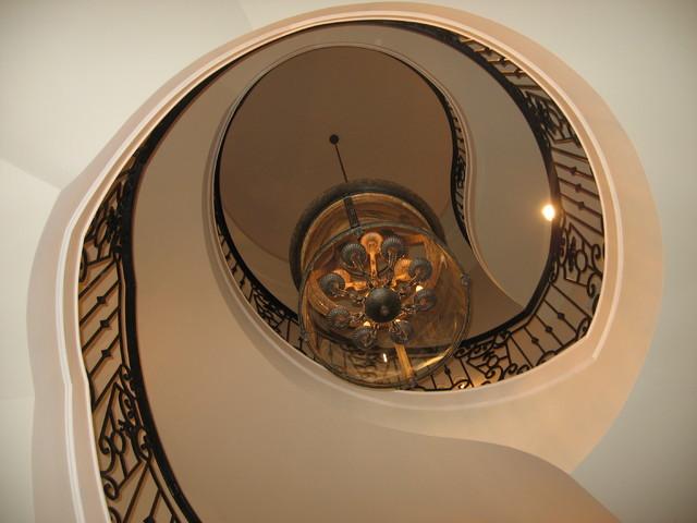 Georgian Row traditional-staircase
