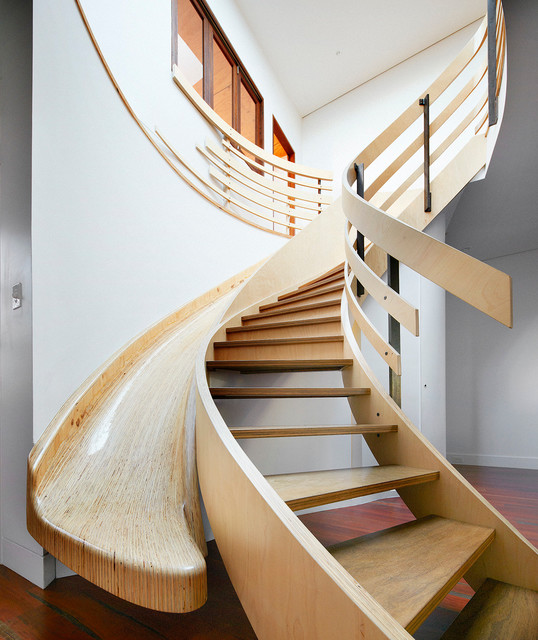 Gibbes Street Contemporary Staircase