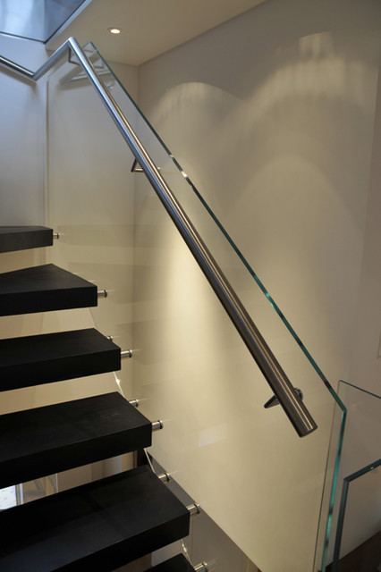 Glass balustrade, Staircase contemporary-staircase