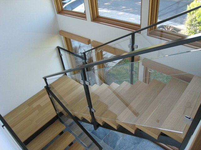 Glass Railings Interior And Exterior Contemporary