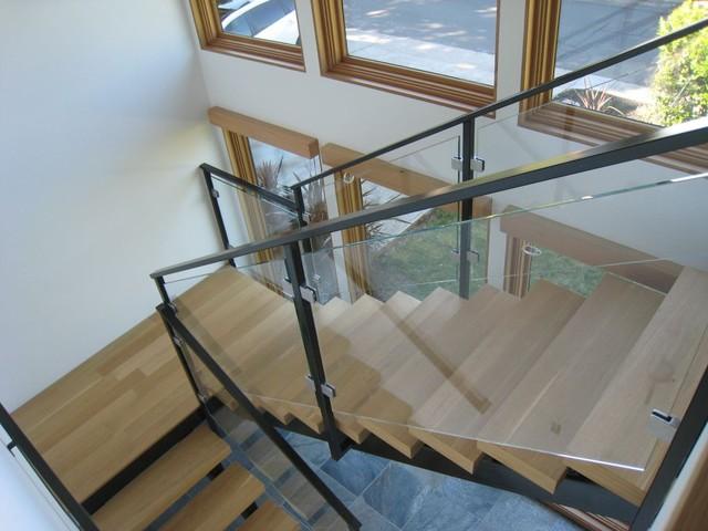 Glass Railings Interior And Exterior Contemporary