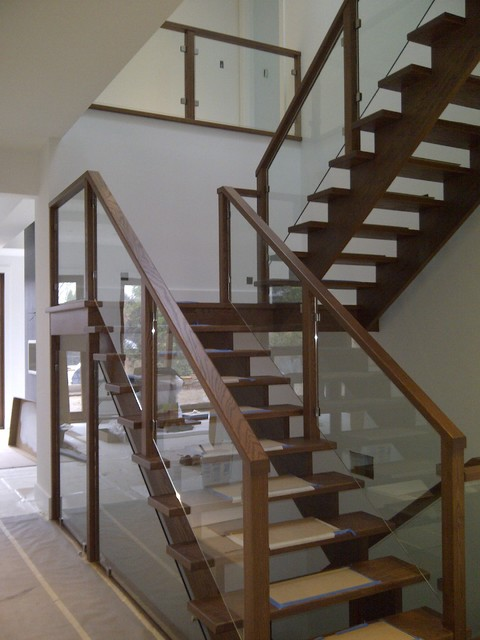 Glass railings for Interior glass railing designs